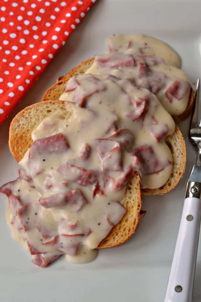 Creamed Chipped Beef