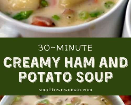 Creamy Potato Ham Soup