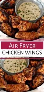 Air Fry Chicken Wings