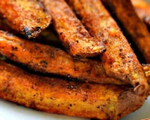Easy Baked Sweet Potato Fries