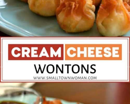 Pepper Jack Chicken Cream Cheese Wontons