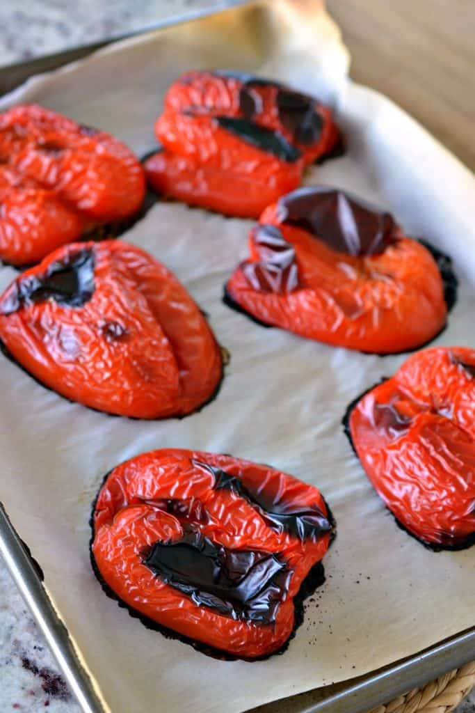 You can easily make your own roasted red peppers at home in just a few simple steps
