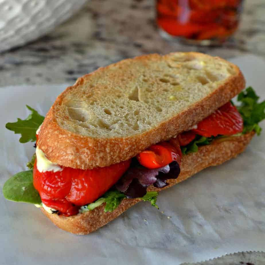 Roasted Red Peppers Recipes