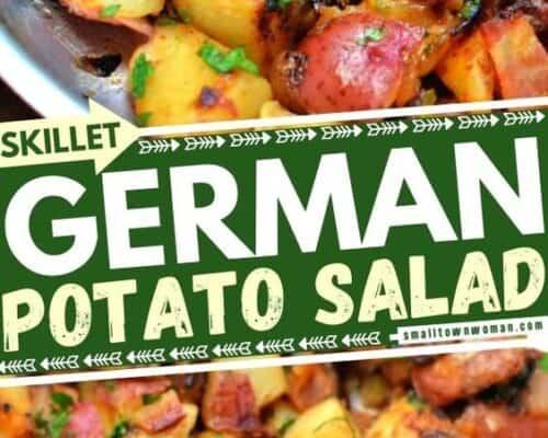 Skillet German Potato Salad