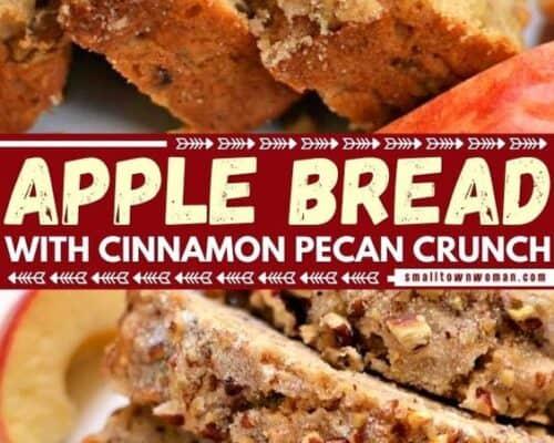 Apple Pecan Sweet Bread