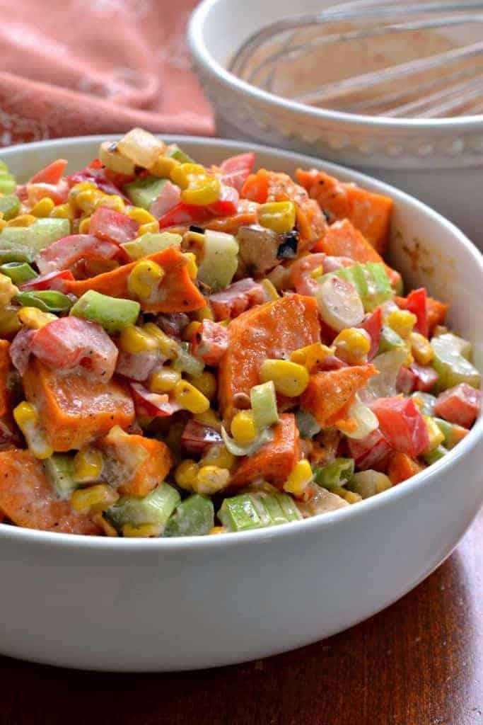 Cold Sweet Potato Salad