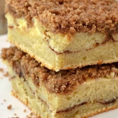 Cinnamon Coffee Cake with Streusel Topping