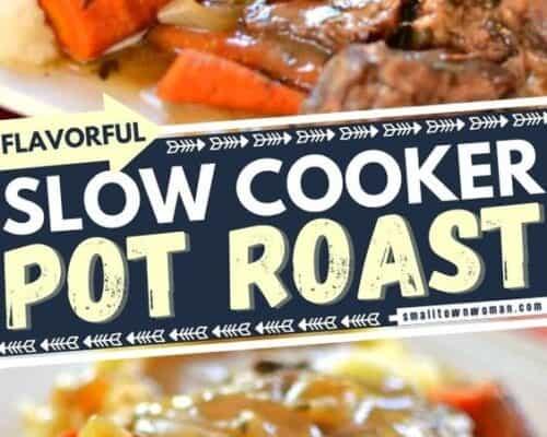 Slow Cooker Pot Roast and Vegetables