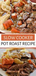 Crock Pot Chuck Roast and Vegetables