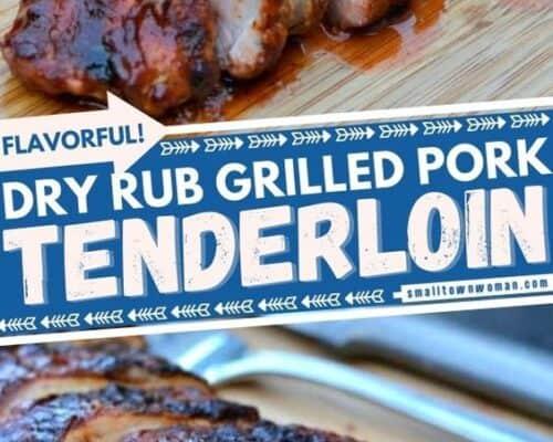 Dry Rub Grilled Pork Tenderloin