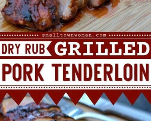 Dry rub pork tenderloin