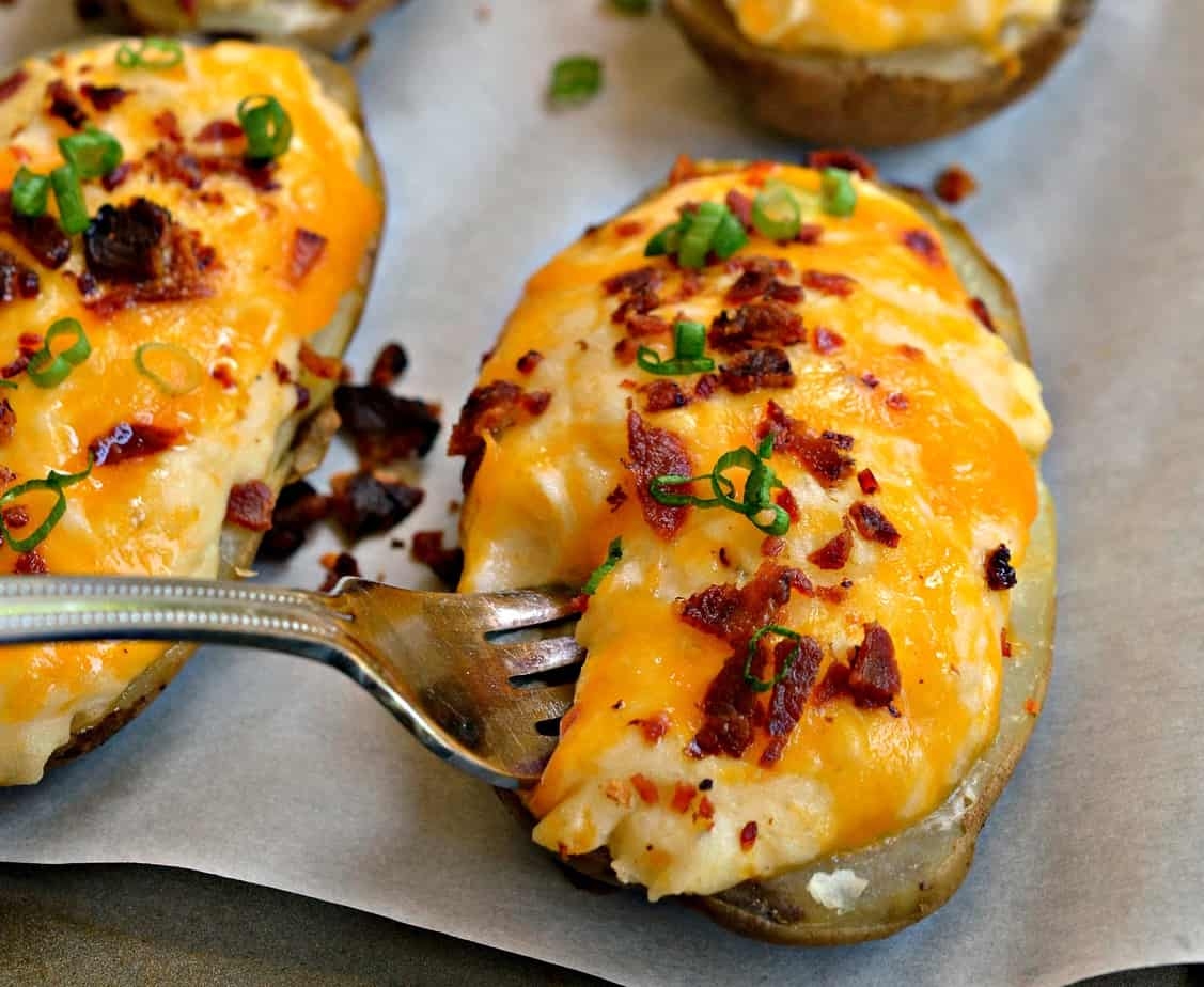 How To Make Twice Baked Potatoes Small Town Woman