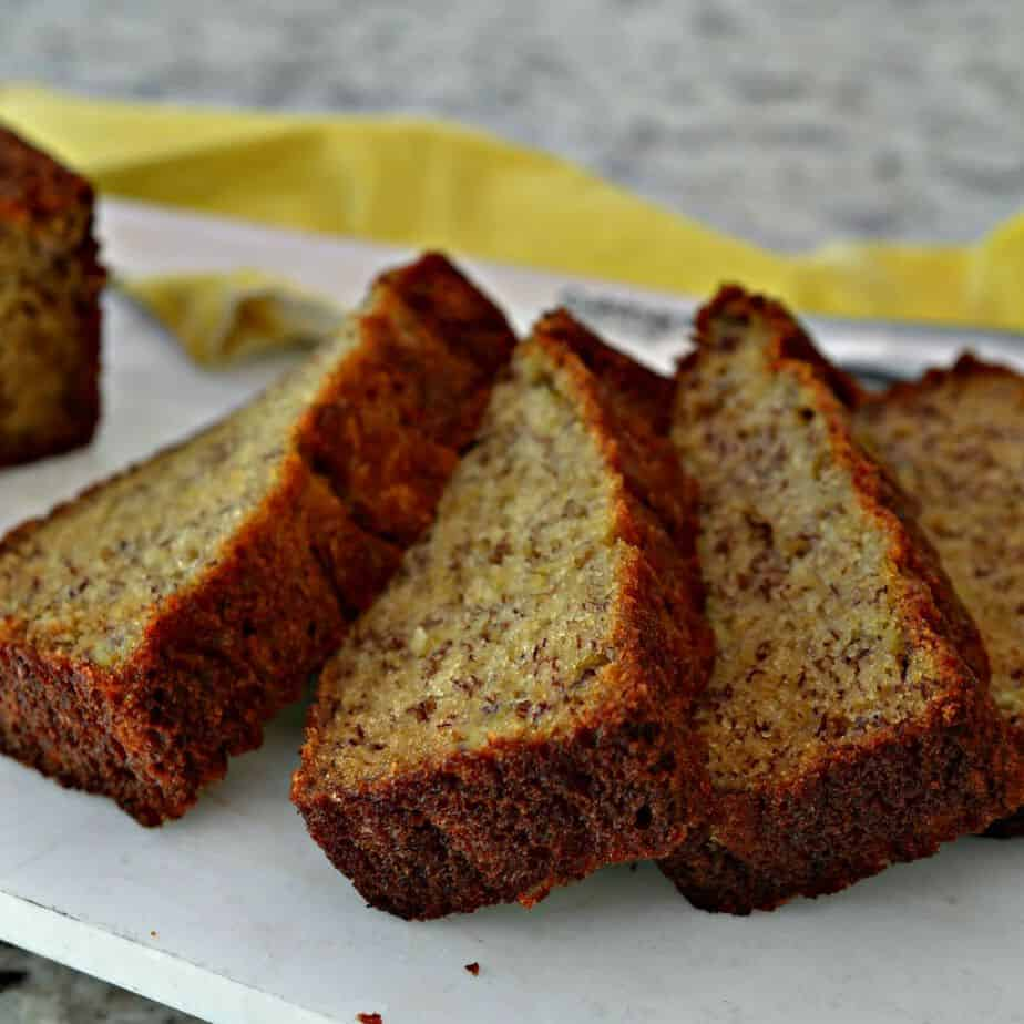 Quick Easy Banana Bread Recipe Small Town Woman