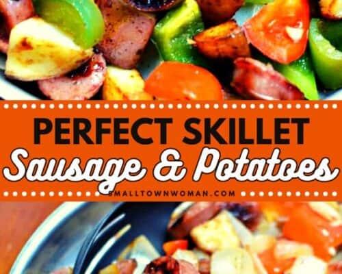 Skillet Sausage and Potatoes