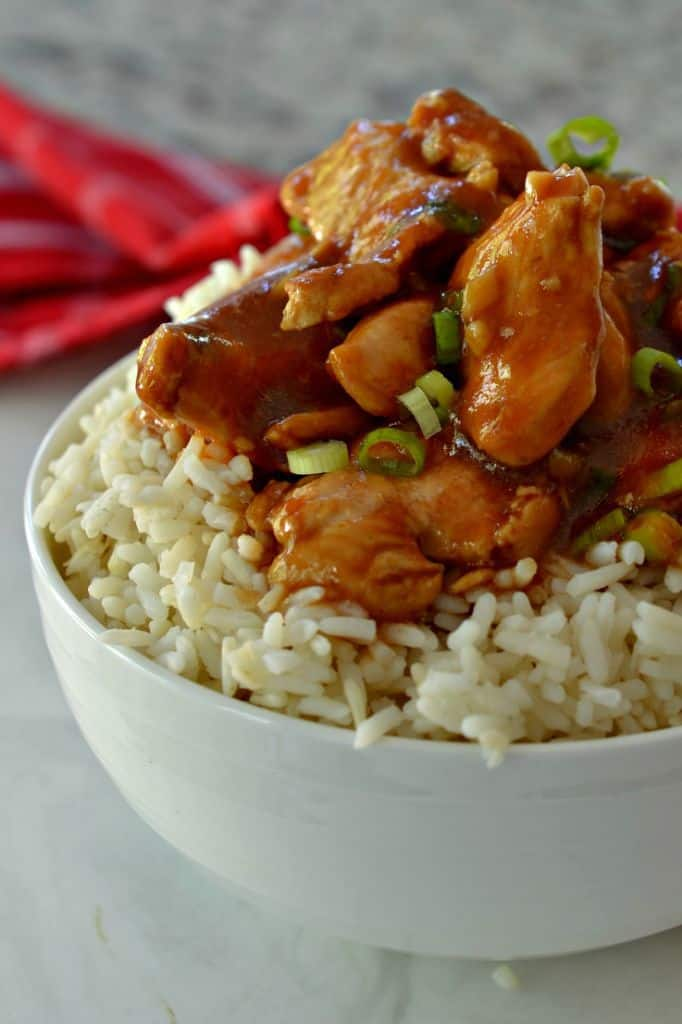 How to Make Bourbon Chicken