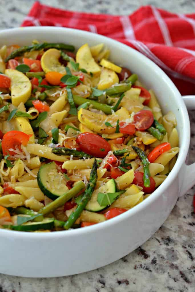 Pasta Primavera Recipe is an easy, flavor-packed pasta salad recipe that's perfect for summer