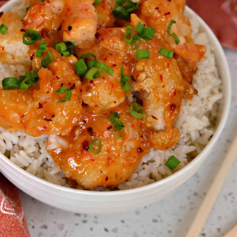 How to Make Bang Bang Shrimp