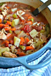 Best Chicken Vegetable Soup Recipe Ever