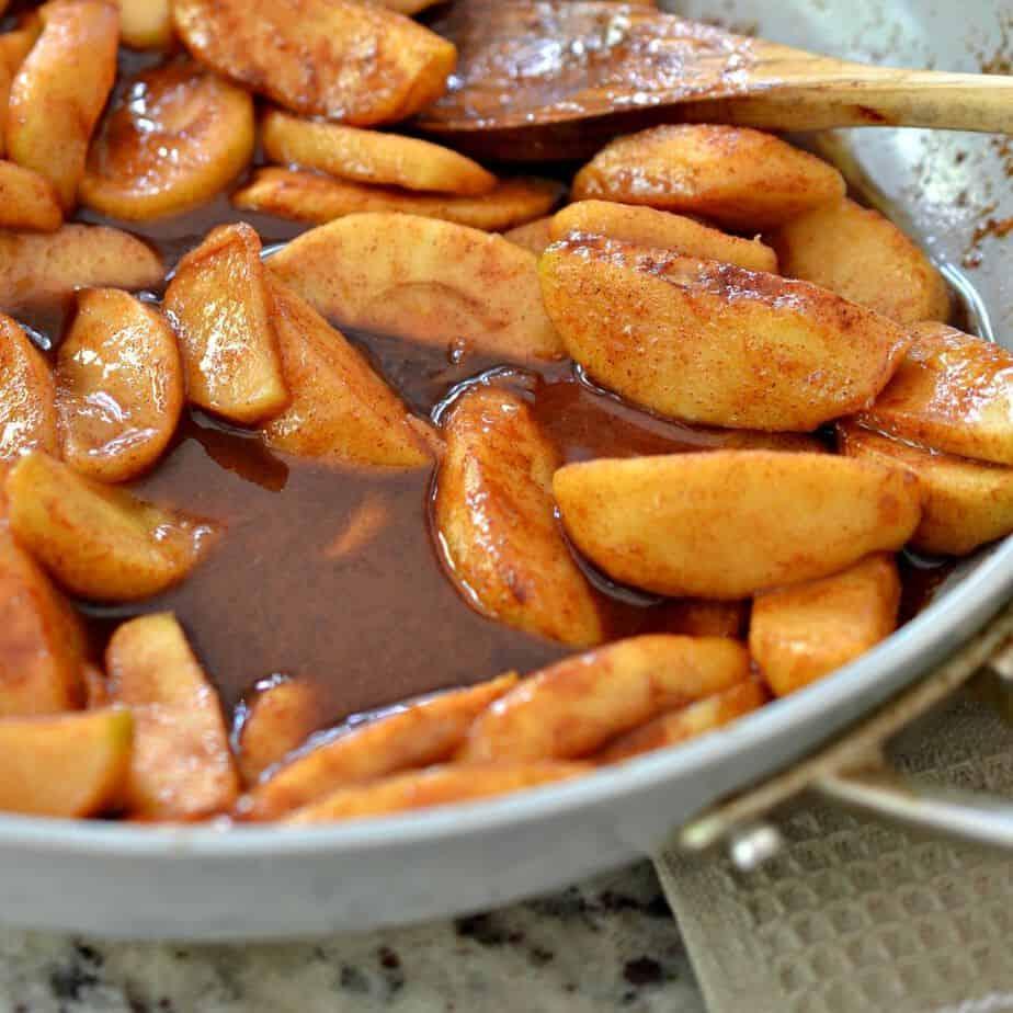 Fried Cinnamon Apples