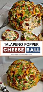 Jalapeno Popper Cheeseball