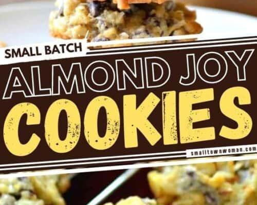 Small Batch Almond Joy Cookies