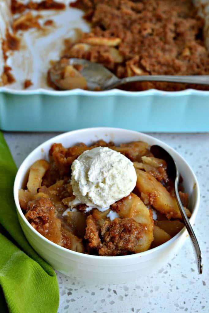 Apple Brown Betty Crisp Recipe