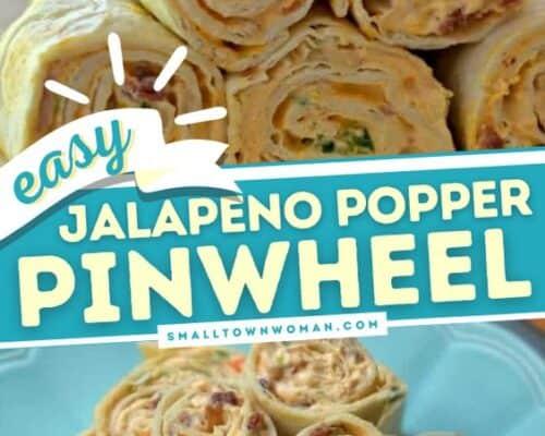 Jalapeno Popper Pinwheels