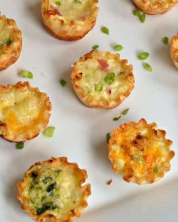 Mini Quiche Appetizers