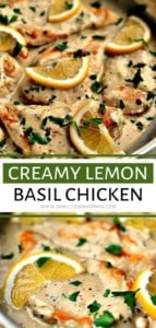 Creamy Lemon Basil Chicken