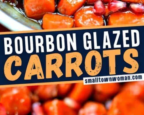 Easy Sweet Glazed Bourbon Carrots