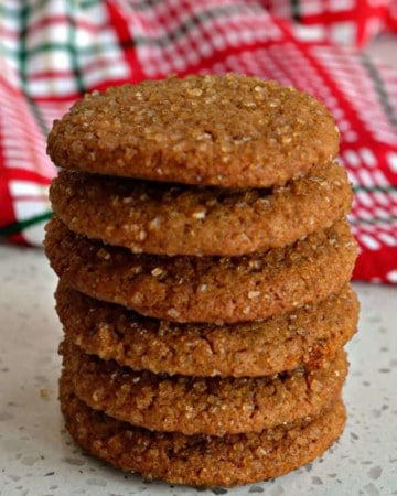 Ginger Snaps Recipe Crispy