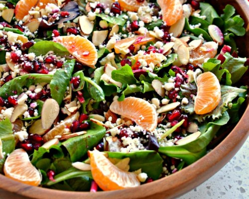 Christmas Green Salad Recipes