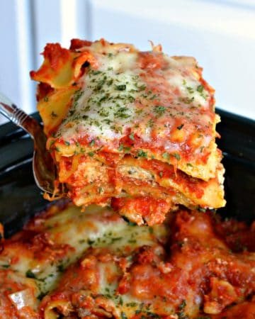 Best Crock Pot Lasagna