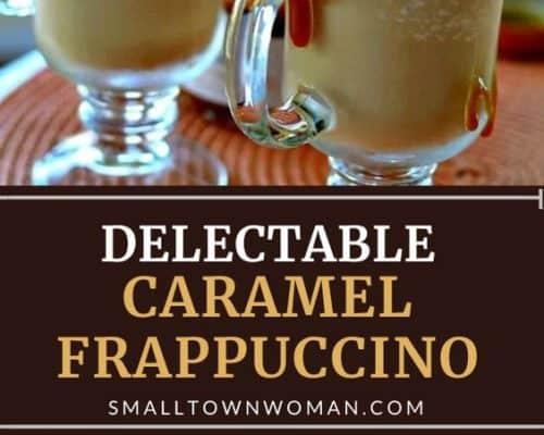 Creamy Caramel Frappuccino