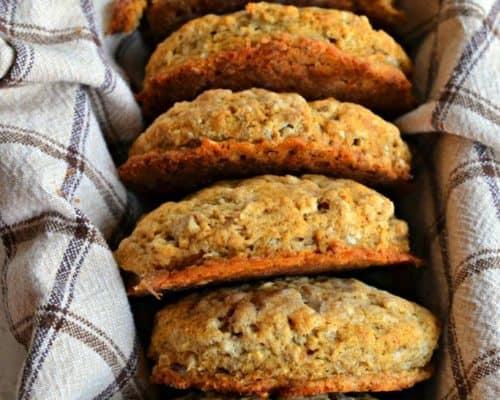 Oatmeal Breakfast Biscuits