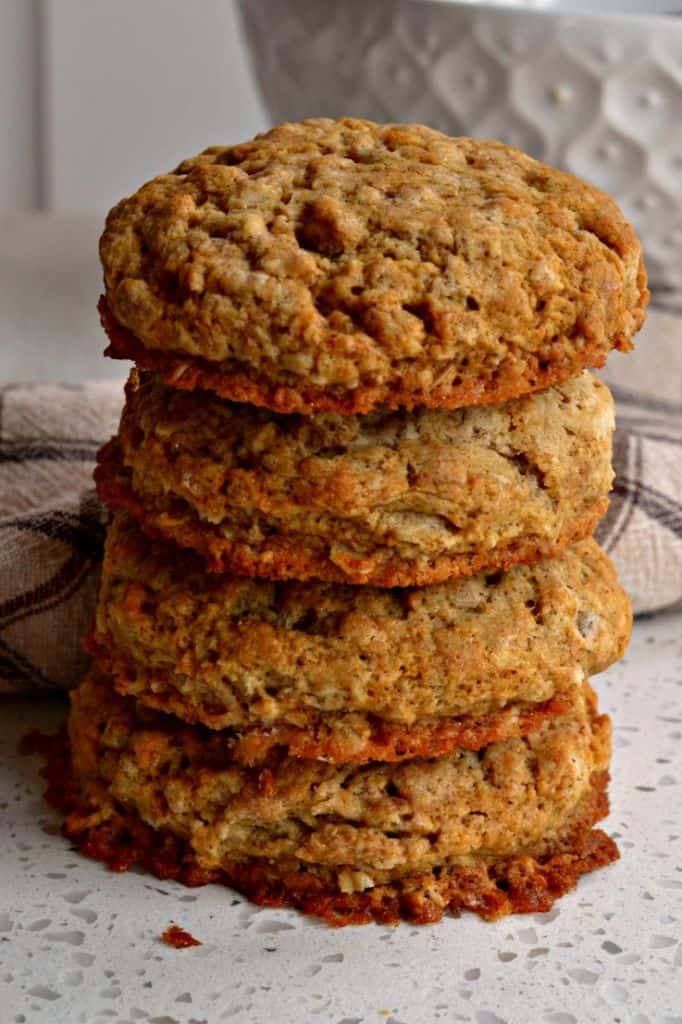 Healthy Oatmeal Biscuits