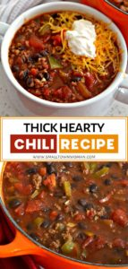 Thick Hearty Chili