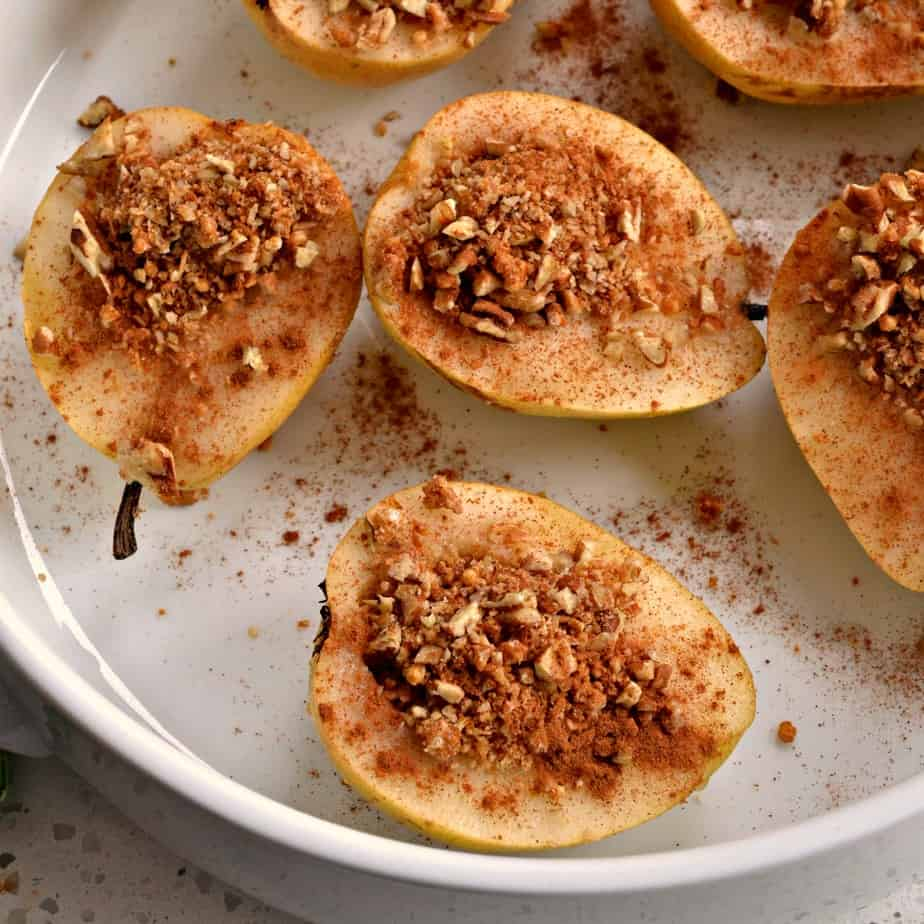How to Bake Pears