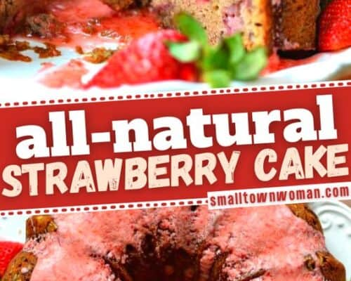 Made from Scratch Strawberry Bundt Cake