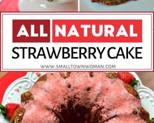 Made from Scratch Strawberry Bundt Cake
