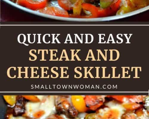 Philly Steak and Cheese Skillet