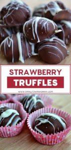 Strawberry Truffles