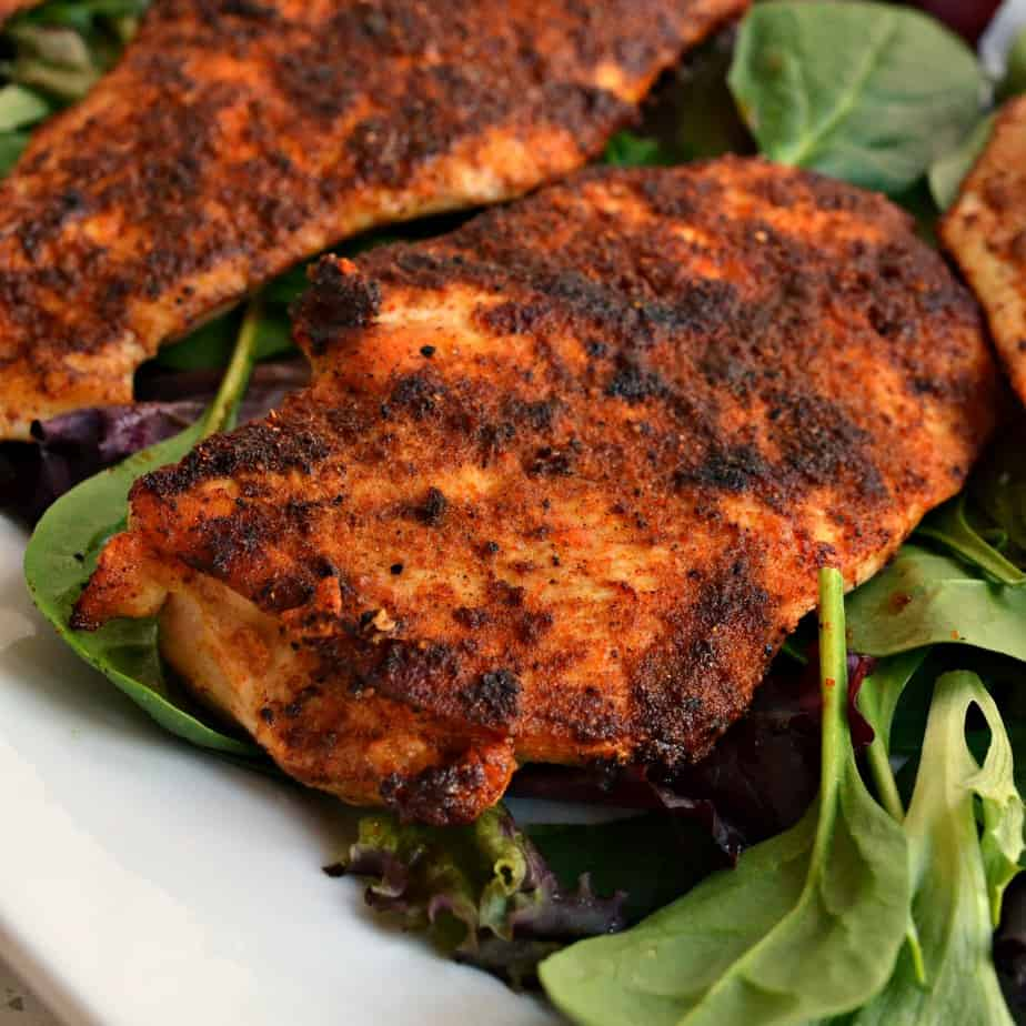 Easy Blackened Chicken is just the ticket for those who like their chicken flavorful yet tender and juicy.