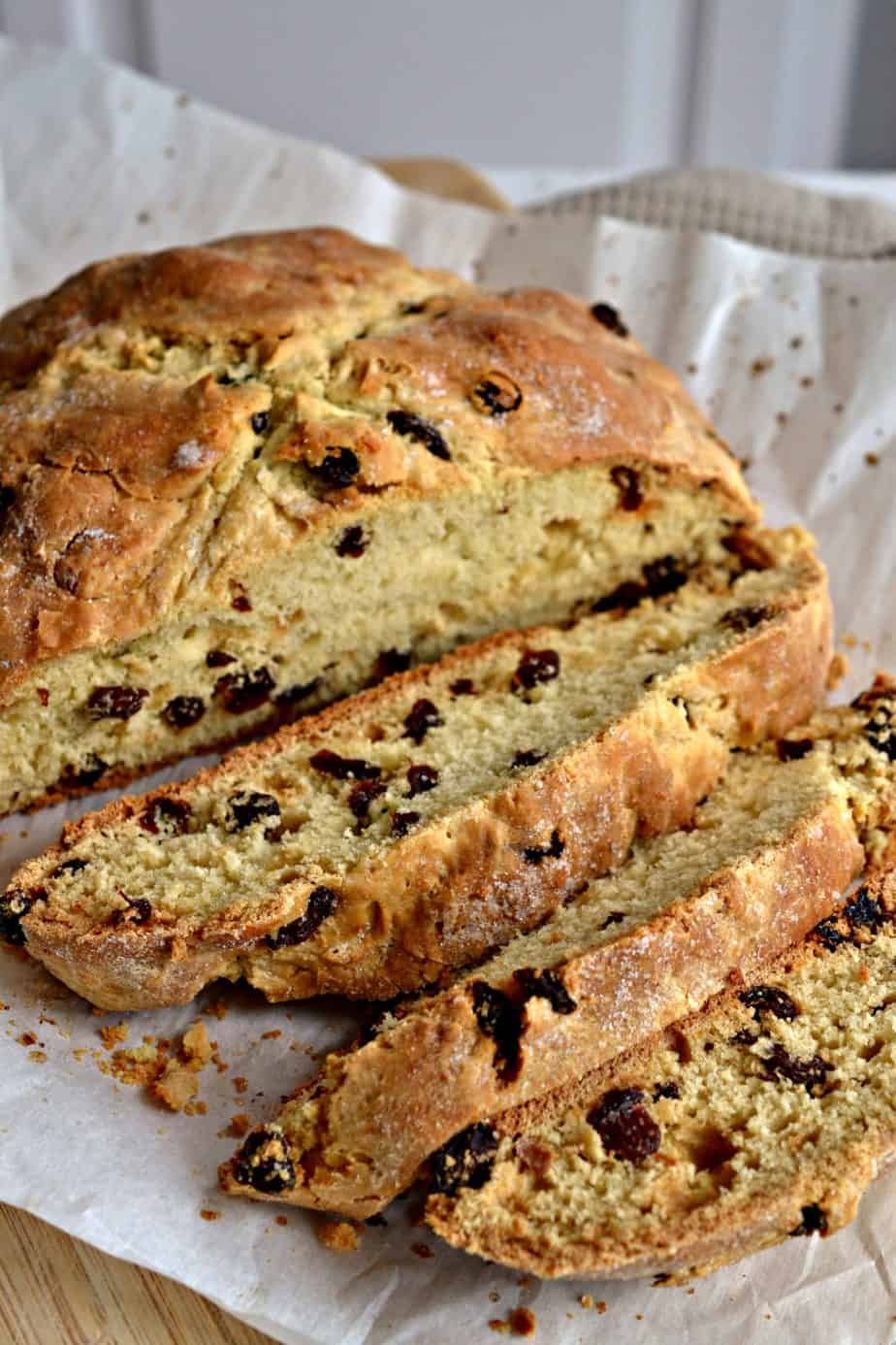This easy no yeast Irish Soda Bread has a crispy crust yet soft and slightly sweet on the inside and is best served warm.