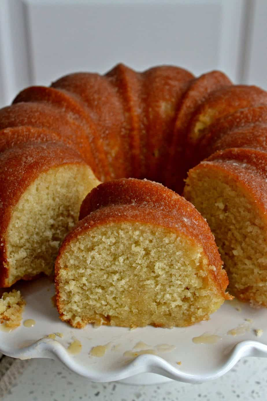 Easy moist vanilla Butter Cake