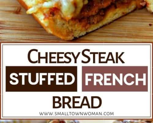 Steak Stuffed French Bread