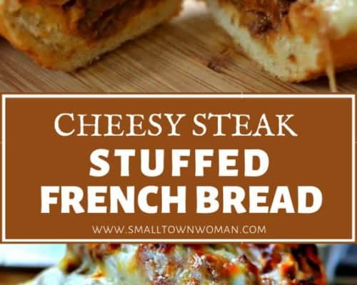 Steak Stuffed French Bread