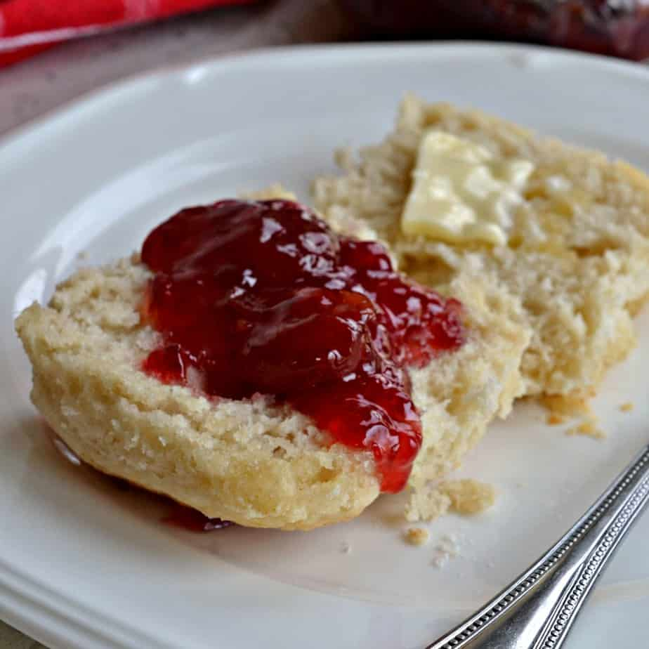 Fun and easy fluffy buttery 7 Up Biscuits can be prepped in about ten minutes using four simple ingredients.