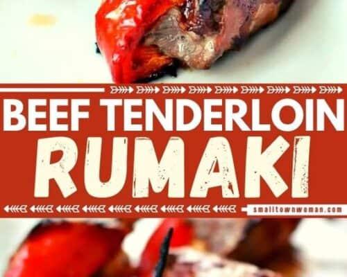 Beef Tenderloin Rumaki