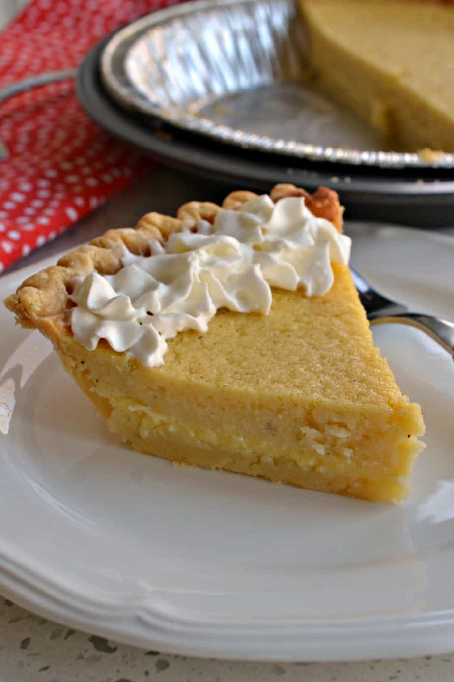 Buttermilk Pie is a creamy, sweet pie that's perfect for holidays, parties, or birthdays
